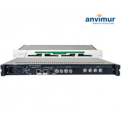 DVB-T/T2/C QUAD Receiver CI, ASI output and IP outputs