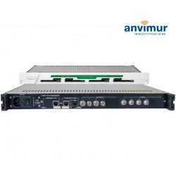 Receptor QUAD DVB-T/T2/C CI Salida ASI e IP simultaneas