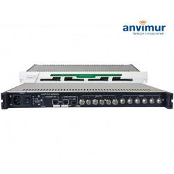 Receptor con Seis Tuner DVB-T/T2/C CI Salida ASI e IP simultaneas