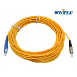 FC/PC - SC/UPC SM9/125 10M Ø 3mm fiber patch cable