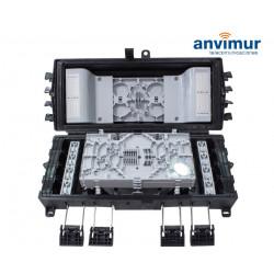 Premium Horizontal Enclosure for 60 Fusions and 8+16SC Ports