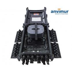 Torpedo Caja Vertical Premium para 48 Fusiones y 16 Puertos de salida directos