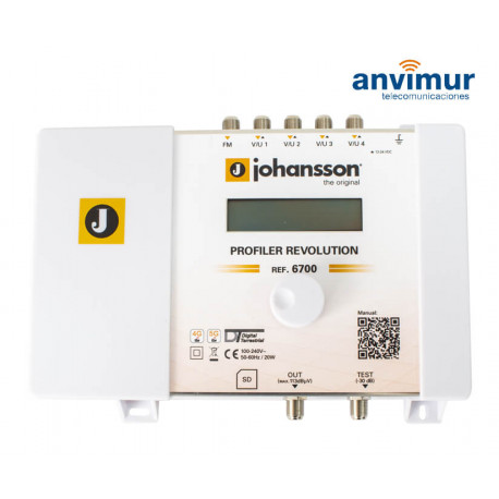 Johansson Universe 8600 Autonomous Transmodulator