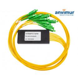 Optical Splitter Module Mini 1x8 with Connectors SC/APC