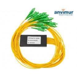 Optical Splitter Module Mini 1x16 with Connectors SC/APC