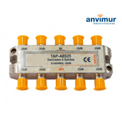 Anvimur Derivator 5-2400Mhz 8 outputs 25dB.