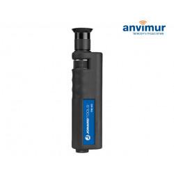 Microscopio Profesional de inspección de fibra, 400X