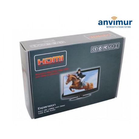 Extensor HDMI a través de UTP de hasta 60m