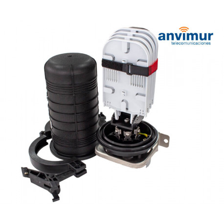 Anvimur dome splice enclosure up to 144 splices