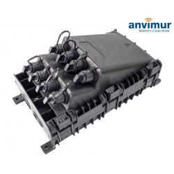 Torpedo Vertical Premium 4+8SC Puertos y 36 Fusiones