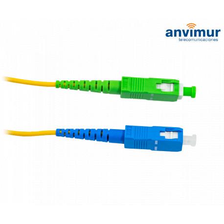 Patch cord SC/UPC - SC/APC Simplex 1.5mts