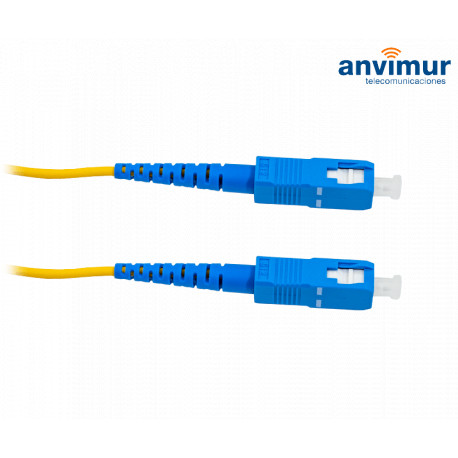 Patch cord SC/UPC - SC/UPC Simplex 1.5mts