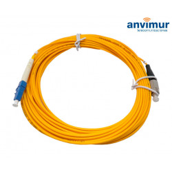 FC/PC - LC/UPC SM9/125 10M Ø 3mm fiber patch cable