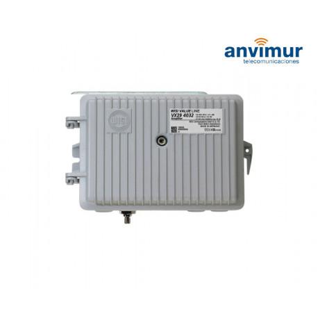 Amplificador telealimentado con conector PG11