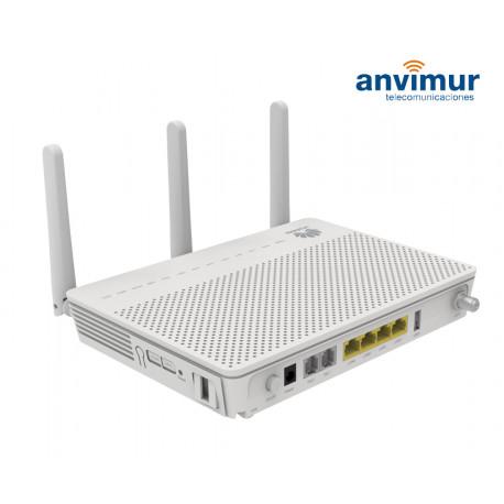 ONT Huawei HG8247U 4GE + 2POTS + 2.4G/5G Wi-F i+ 1USB + 1CATV