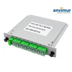 Splitter 1:8 Cassette LGX SC/APC