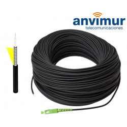 Outdoor Armored Patch Cord 200m, 1 optic fibre G657.A2 - SM9/125
