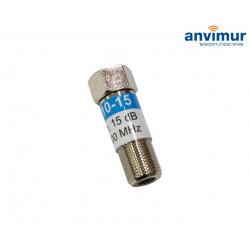 Atenuador 15dB 5-1000MHz
