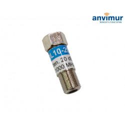 Attenuator 15dB 5-1000MHz WISI