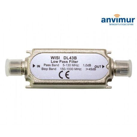 Low pass Filter 5-130MHz WISI