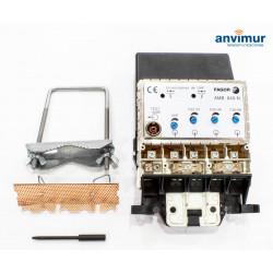 Amplificador de banda ancha para mástil