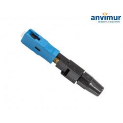 Conector mecánico reutilizable SC/UPC
