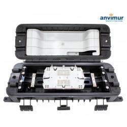 Premium Horizontal Enclosure for 4+16SC Ports and 24 Fusions