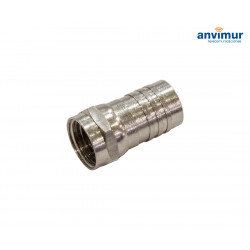 CONECTOR Fm CRIMPAR ESTANCO RG6