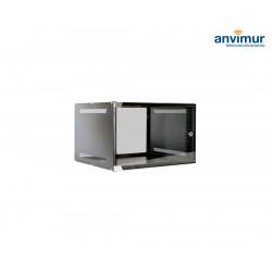 """Wall mounted 19"""" 6U rack cabinet 520X450X329mm UNMOUNTED"""