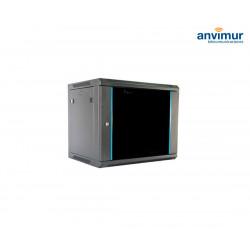 "Wall mounted 19"" 9U rack cabinet 600X450X501mm"