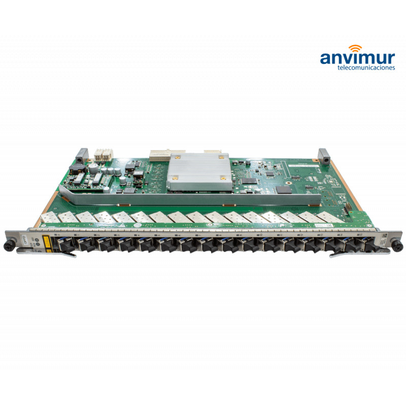 Buy this 16 GPON C+ card for OLT Huawei at Anvimur