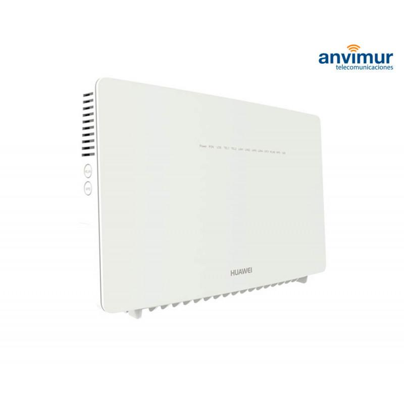 ONT Huawei EG8247W | 4GE + 2 TELF  + 1USB + 1CATV + Wi-Fi AC | Anvimur