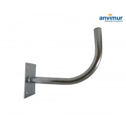 """L"" Wall Mount Bracket 42cm Ø40mm"