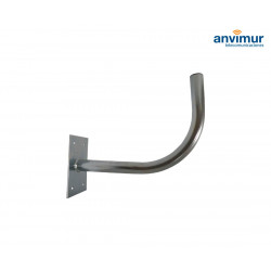 Soporte Pared en L 30cm Ø30mm