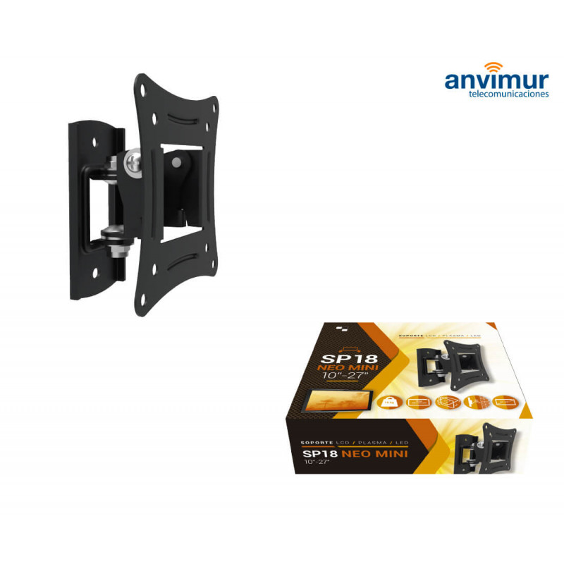 Soporte De Pared Para Tv 10 27 Neo Mini Anvimur