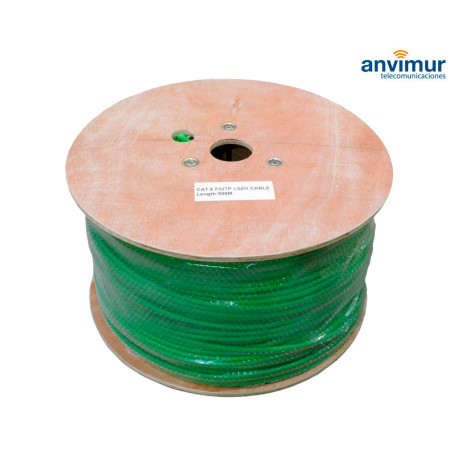 Cable FTP C6 LSZH 500M, CU