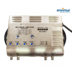 Multiband Central Amplifier. 2input - 2output / TV 32dB - SAT 40dB / RS-601 PLUS