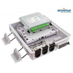 Caja Distribución 12 salidas para splitter casete