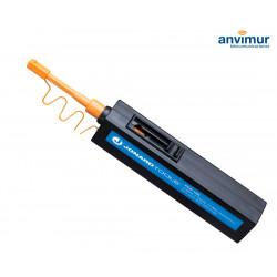 Limpiador para adaptadores y conectores de fibra óptica LC/MU