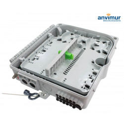 Distribution Box up to 12 outputs for uncut fiber
