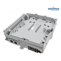 Distribution Box up to 12 outputs for 1x8 cassette splitter