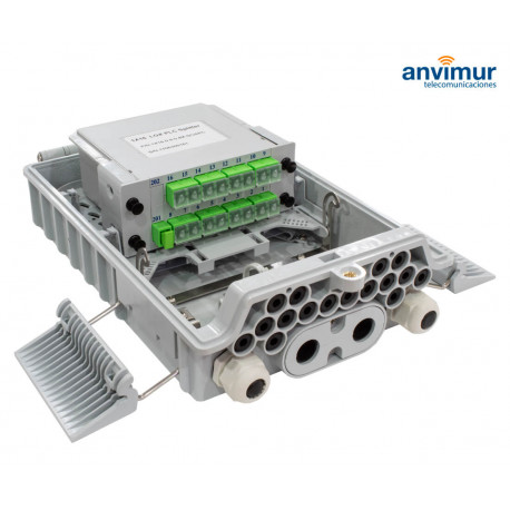 Distribution Box up to 16 outputs, 4 inlet ports GFS-16N