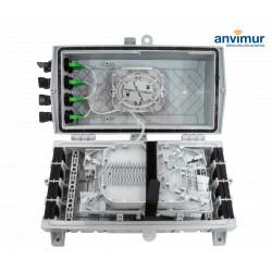 Premium Horizontal Enclosure for 8+8SC Ports and 34 Fusions