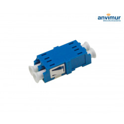 Adaptador H/H - LC/UPC Duplex sin soportes