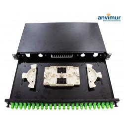 Tray Patch Panel 24 ports SC/APC Simplex