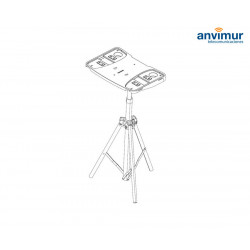 Un1co Mobile Worktable tripod support