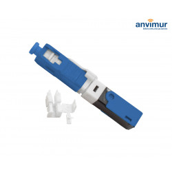 Quick mechanical connector SC/UPC