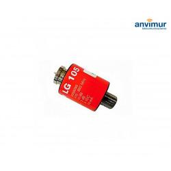 Broadband amplifier for mast