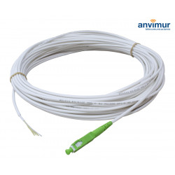 PIGTAIL 40M White Exterior 1 FO with connector