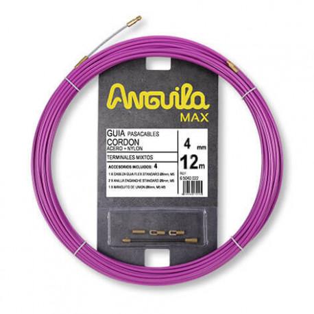 ANGUILA MAX 4mm Acero + Nylon 12 metros